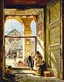 Gustav Bauernfeind - The Gate Of The Great Umayyad Mosque, Damascus.jpg