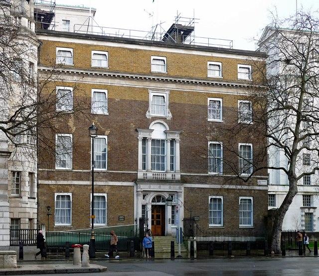 Gwydyr House, Whitehall (geograph 5590927)