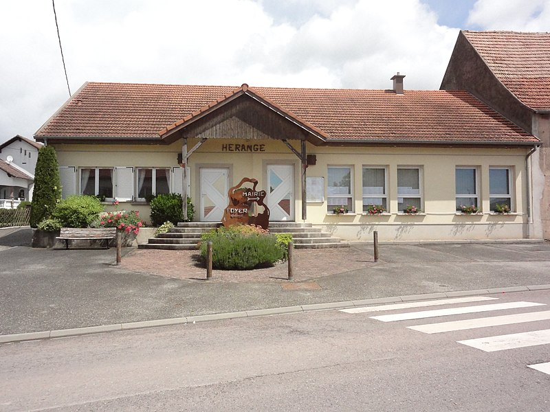 Hérange (Moselle) mairie - foyer rural