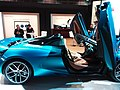 HKCEC 香港會議展覽中心 Wan Chai 蘇富比 Sotheby's Auction preview exhibition 麥華倫 Mclaren race car 720S Spider blue March 2019 SSG 03.jpg