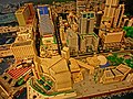 HKPIEG Infrastructure Gallery exhibit - 尖沙咀 TST 現今建築物 Lego model now May-2013 Peninsula Hotel n Salisbury Road.JPG