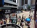 HK 中環 Central 德輔道中 Des Voeux Road tram view Pedder Street stop sign July 2019 SSG 08.jpg