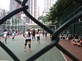 HK CWB 銅鑼灣 摩頓台 Moreton Terrace Playground 排球隊賽 court Valleyball teams game Oct 2016 SSG 05.jpg