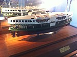 HK Central Piers interior exhibition of Star Ferry history 4th Generation 1965.JPG