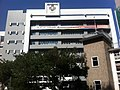 HK Mid-levels 般咸道 Bonham Road St Pauil's College SPC 160th Anniversary sign school building facade Ip4 Oct-2011.jpg