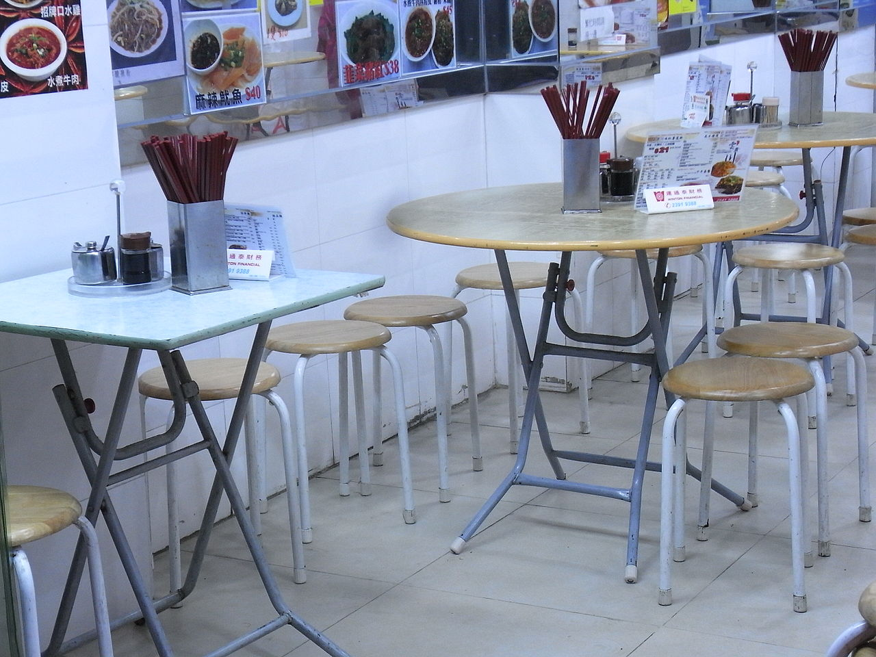 Used tables and chairs for restaurant - File Hk Sheung Wan Evening Jervois Street Restaurant Interior Furniture Tables Aug 2012 Jpg