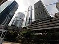 HK Tram 92 view 金鐘道 Queensway Admiralty High Court facades October 2019 SS2 02.jpg