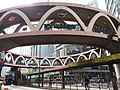 HK tram view CWB Causeway Bay Yee Wo Street ring footbridge February 2019 SSG.jpg