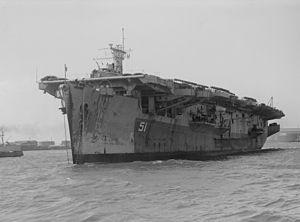 HMS Atheling (D51) - HMS Atheling SLV, 18 December 1945