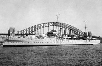 HMS Dorsetshire (40) - Image: HMS Dorsetshire (40)