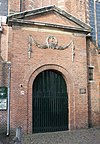 haarlem - waalse kerk (ingang)