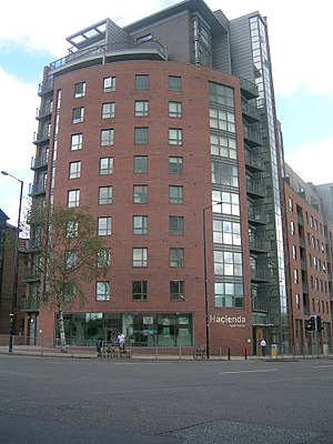 Factory Records - The new Haçienda apartments in 2007