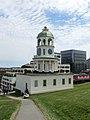 Halifax Town Clock 2 (28067421728).jpg