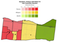 Hamilton, Ontario 2018 Ward 10 City Councillor Election results by poll.png