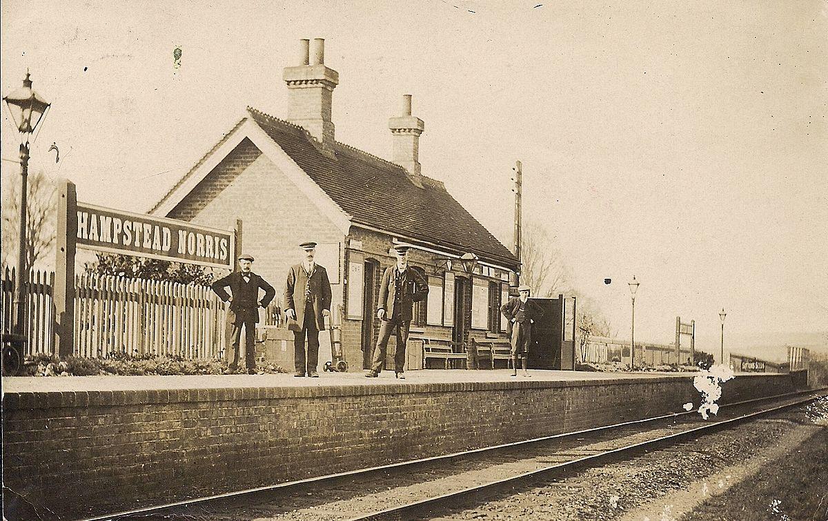 Hampstead Norris Railway Station Wikipedia