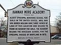 Hannah More Academy Marker Dec 09.JPG