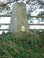 Harby Hill Trig Point near Eastwell - geograph.org.uk - 71958.jpg