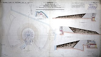 Harding's Battery - Image: Harding's Battery Record Plan sheet II