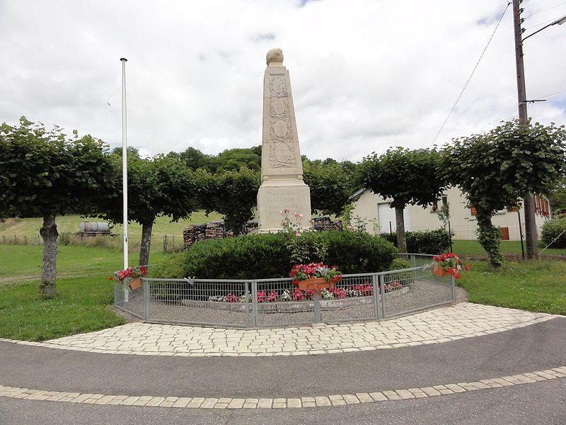 Haroué (M-e-t-M) monument aux morts