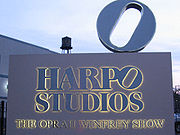 Harpo Studios, headquarters of talk show host Oprah Winfrey.