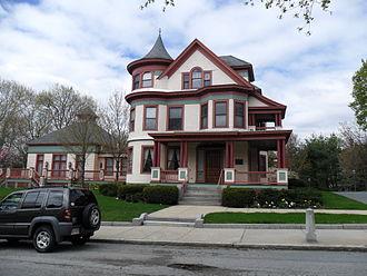 Clark University - Harrington House, the home of Clark's presidents.