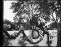 Harry S. New, Charles Evans Hughes, Calvin Coolidge at ceremony LCCN2016893770.tif