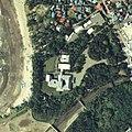Hayama Imperial Villa aerial photograph, in 1983-05-17.jpg