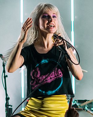 Hayley Williams - Williams performing as part of Paramore at the Royal Albert Hall in London, 2017.