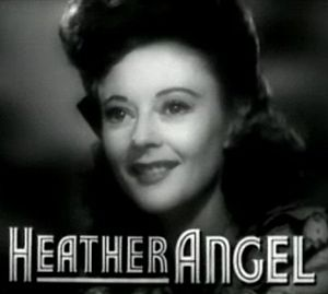 Heather Angel (actress) - from the trailer for the film Cry 'Havoc' (1943)