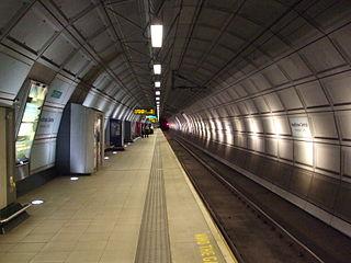 Heathrow Terminals 2 & 3 railway station