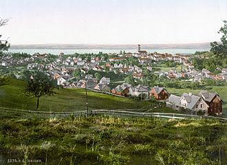 Heiden, Switzerland - Heiden village, 1900.