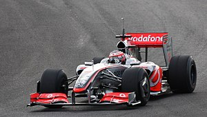 2009 FIA Formula One World Championship - Heikki Kovalainen driving the McLaren MP4-24 at Jerez