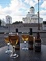 Helsinki Cathedral on 18th July 2016 Café Engel 5.jpg