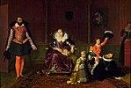 Henri IV recevant l'ambassadeur d'Espagne by Jean-Auguste-Dominique Ingres.jpg