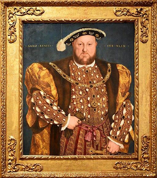 Henry VIII by Hans Holbein der Jüngere (1540, Galleria nazionale d'arte antica, Rome)