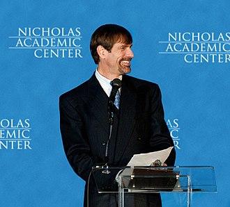 Henry Nicholas - Henry Nicholas addressing Nicholas Academic Center graduates