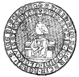 Henryk IV Wierny seal 1308.PNG
