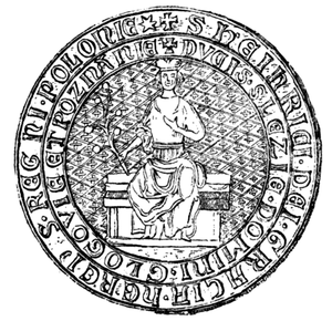 Henry IV the Faithful - Henry IV's seal, dated to 1308.
