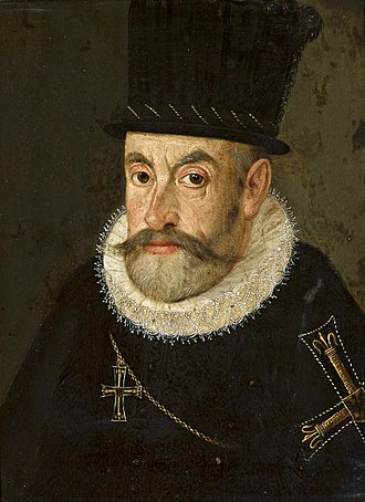 Maximilian III, Archduke of Austria - Portrait by Hans Henseiller, 1590s, National Museum in Warsaw