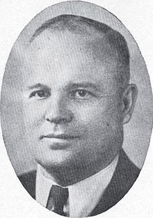 Photo of Herbert B. Maw ca. 1936