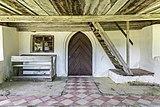 Hermagor Nampolach Filialkirche hl Kunigunde Vorlaube Innen-Ansicht 08062017 9142.jpg