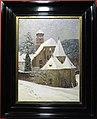 Hermann Dischler, Klosterkirche (St. Trudpert) im Schnee, 1904.jpg