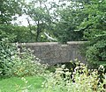 Heron over bridge on old A483 - geograph.org.uk - 982226.jpg