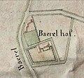 Het Baerel hof (kaart Charles de Marnix door landmeter F. Le Brun 15-10-1807.jpg