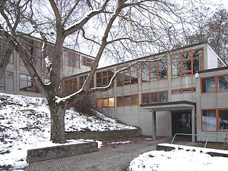 Ulm School of Design -  Building Ulm HfG designed by Max Bill and completed in 1955.
