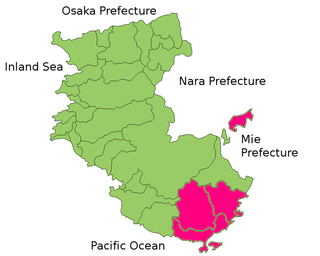 Higashimuro District, Wakayama district of Japan