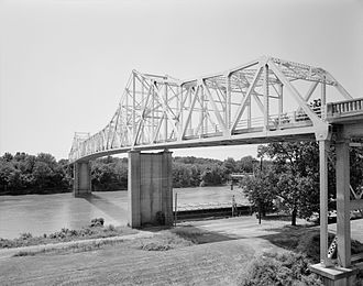 Clarendon, Arkansas - Highway 79 Bridge over the White River