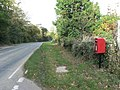 Hinton, postbox No. BH23 4, Lyndhurst Road - geograph.org.uk - 1016054.jpg