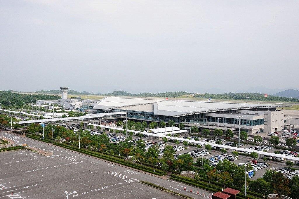 Hiroshima airport japan