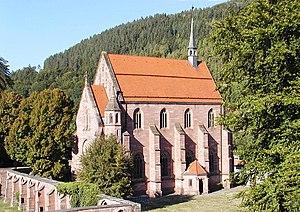 Hirsau - Image: Hirsau marienkapelle 2